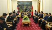 Hợp tác toàn diện giữa Bộ Công an và Bộ Nội vụ Vương quốc Campuchia