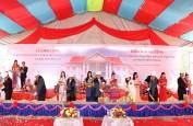 Khởi công xây nhà chung của cộng đồng người Việt tại Bắc Lào
